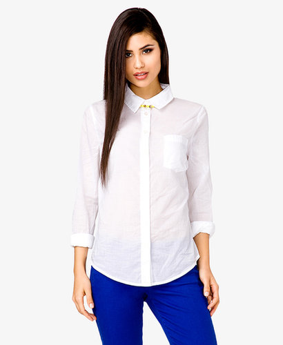FOREVER 21 Classic Button Down Shirt