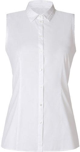 Hugo Open White Cotton Elmie Shirt