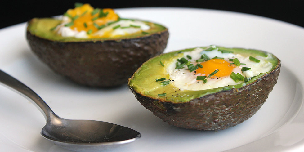 Paleo-Powered Breakfast: Eggs Baked in Avocado