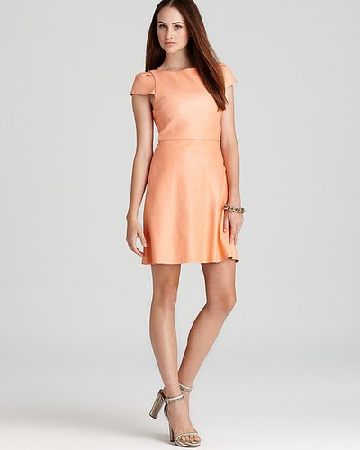 Alice + Olivia Dress - Finn Leather A Line