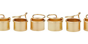 The Friday Fast 5: Gold Ring Stacks Under $25