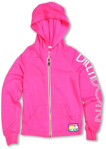 Billabong Kids - Stole My Heart Hoodie (Little Kids/Big Kids) (Pink Punch) - Apparel
