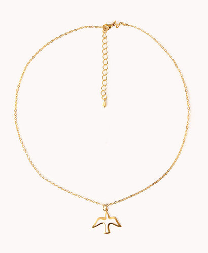 FOREVER 21 Cutout Dove Necklace