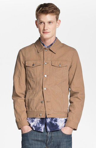 Topman Cotton Canvas Jacket