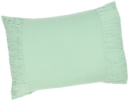 Lazybones - Rosette Cotton Jersey Pillowcase - Standard (Mint) - Home