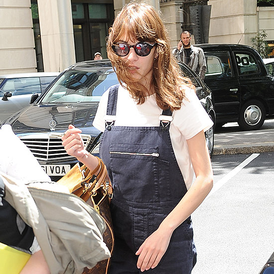See How Celebrities Wear Denim Overalls: See Alexa & Rihanna