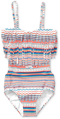 Roxy Kids Swimsuit, Girls Fringe Monokini