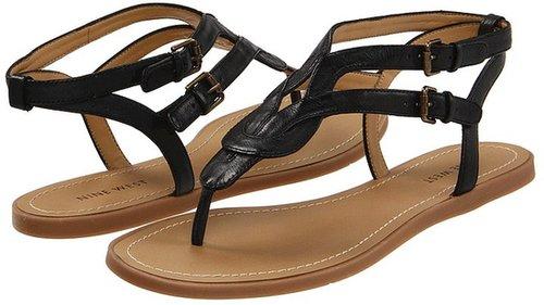 Nine West - Tamasin (Black Leather) - Footwear