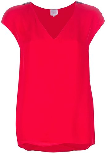 Parker 'Dahota' silk blouse