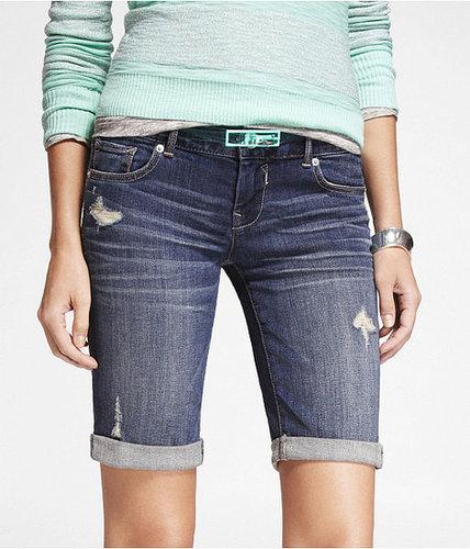 10 Inch Bermuda Denim Shorts
