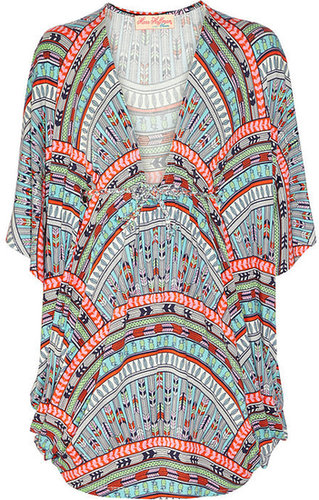 Mara Hoffman Rainbow printed stretch-jersey kaftan