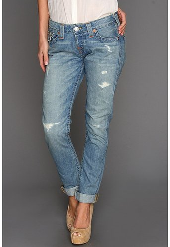 True Religion - Cameron Boyfriend Jean in Wagoneer (Wagoneer) - Apparel