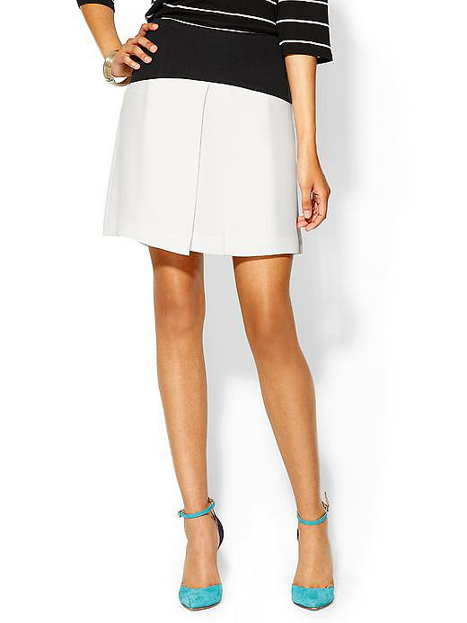 Tibi's yoked pleat skirt ($270, originally $385) was made for pairing with Summer stripes or a breezy button-down at the office.