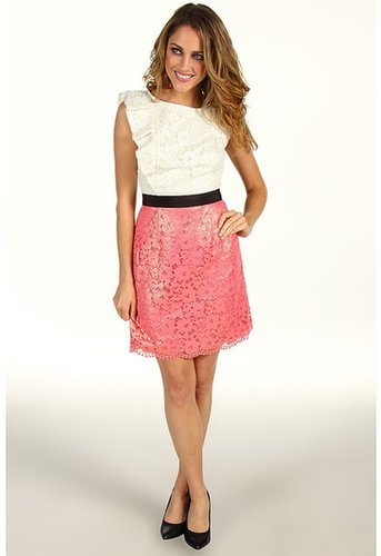Lilly Pulitzer - Delila Dress (Multi Race For This Lace Combo) - Apparel