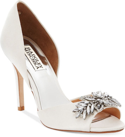 Badgley Mischka Shoes, Nikki Mid Heel Evening Pumps