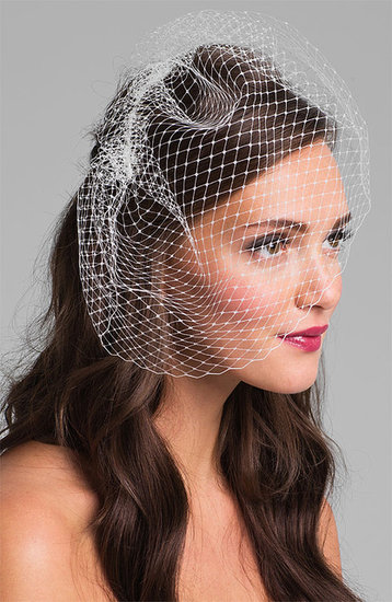 Nina French Net Birdcage Veil