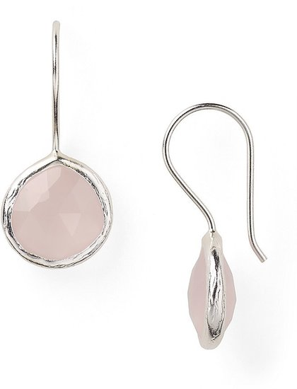 Coralia Leets Mini Rose Quartz Earrings