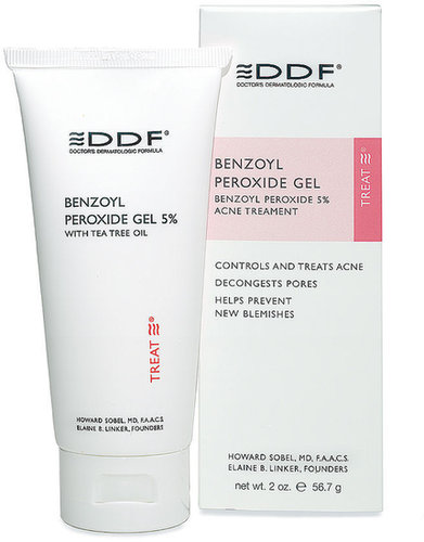 DDF Benzoyl Peroxide Gel 5% Acne Treatment 2 oz (56 g)