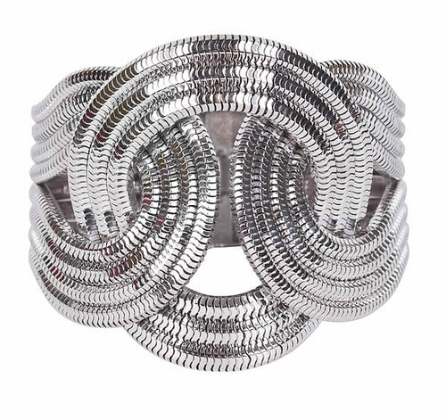 Lara Bohinc Solar Eclipse Platinum Bracelet