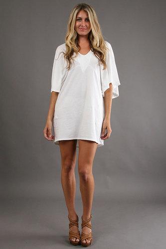 TYSA Little Wings Dress in White