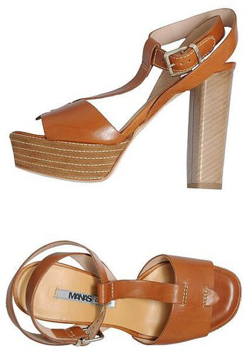 MANAS LEA FOSCATI Platform sandals
