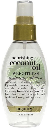 Organix Nourishing Coconut Oil Weightless Hydrating Oil Mist