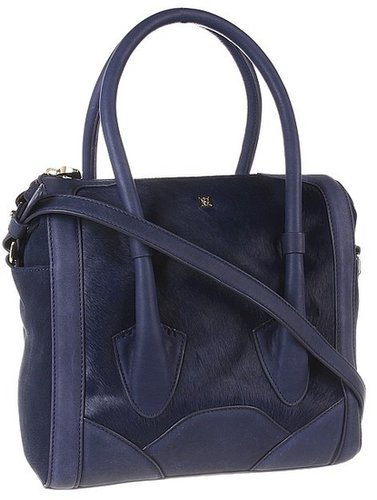 Pour La Victoire - Butler Satchel (Navy) - Bags and Luggage