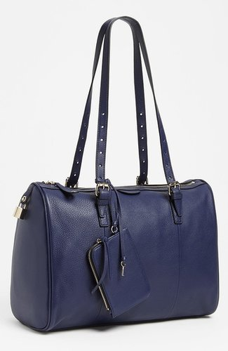 Halogen Leather Satchel