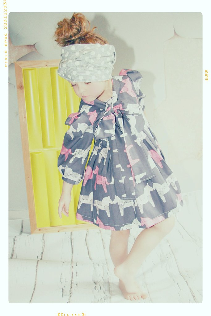 Pink Painted Horses Dress