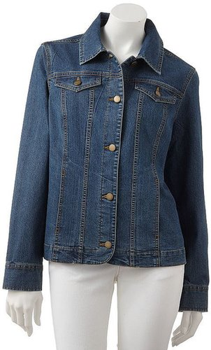 Croft and barrow denim jacket