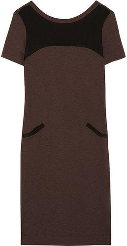 Marni Paneled cotton-blend jersey dress
