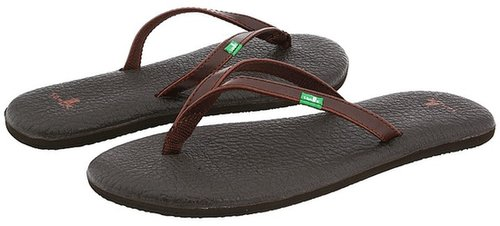Sanuk - Yoga Spree (Brown) - Footwear