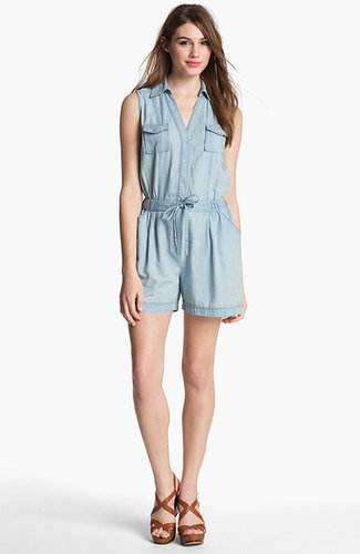 Two by Vince Camuto Chambray Romper