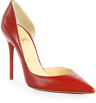 Christian Louboutin Iriza Leather d'Orsay Pumps