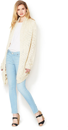 Sebastien Textured Cotton Cardigan