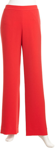 Rachel Roy Relaxed Pants. Flame