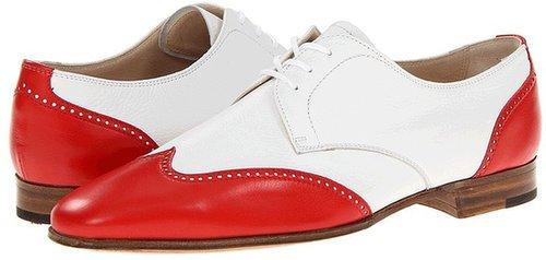 Gravati - Wingtip Oxford (Red/White) - Footwear