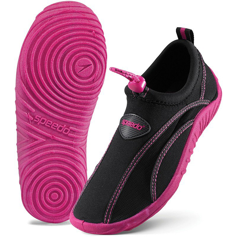 Get girls ready for all the Summer action with these Speedo Surfwalker Extreme Water Shoes ($14-$20) made to protect from sand, rocks, and sharp objects.