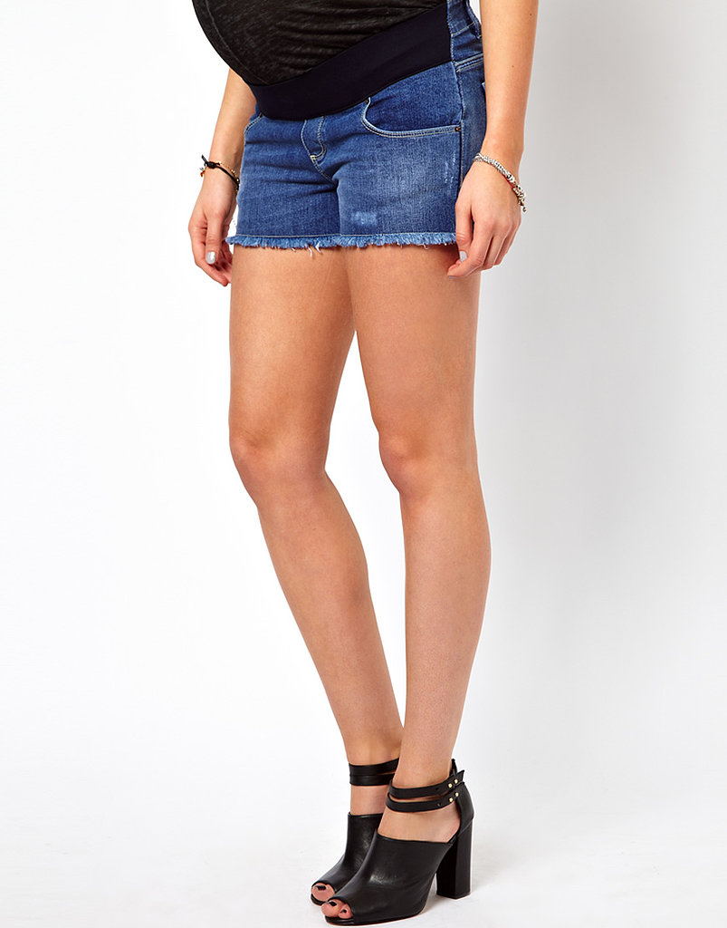 Think pregnancy means the end of cutoffs? Think again. ASOS's distressed denim shorts ($37) fit in all the right places, for those who dare to bare.