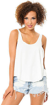 RVCA The Label Drape Tank