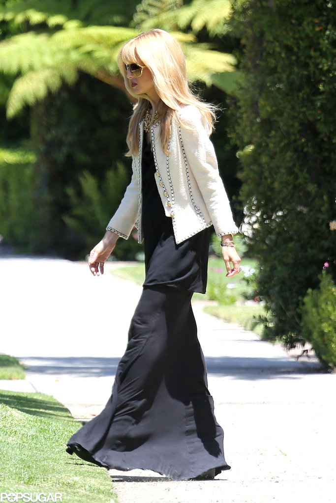 Rachel Zoe stepped out for the first time since news of her second pregnancy was revealed.