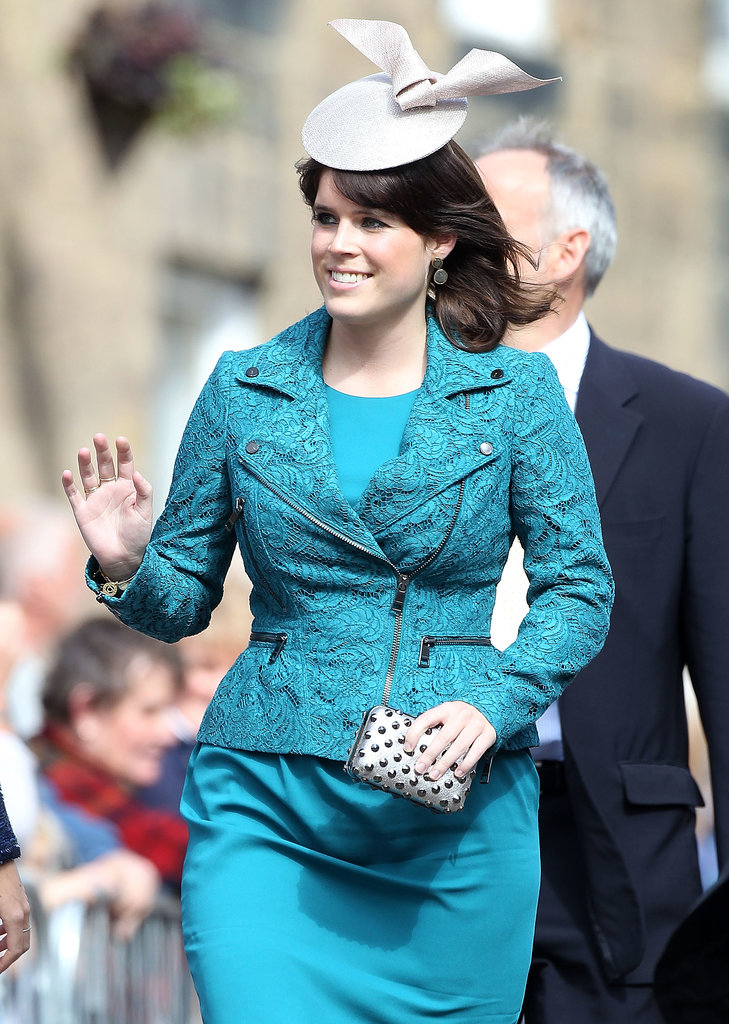 Princess Eugenie attended the wedding.