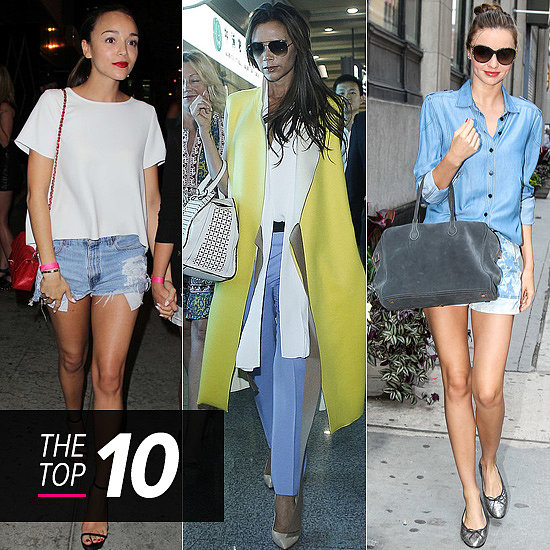 Top 10 Best Dressed Of The Week: Miranda, Victoria, Ashley & More Off-Duty