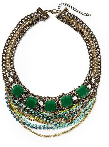 Pim + Larkin Multi Chain Statement Necklace
