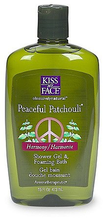 Kiss My Face Harmonizing Bath & Shower Gel Peaceful Patchouli