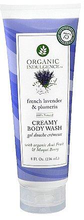 Organic Indulgence Creamy Body WashFrench Lavender & Plumeria
