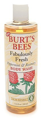 Burt's Bees Fabulously Fresh Body Wash Peppermint & Rosemary