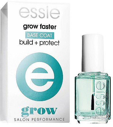 essie Grow Faster Base Coat, Anti-Break + Protect