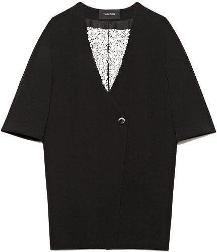 Preorder Thakoon Jeweled Cocoon Coat