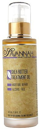 Savannah Hair Therapy Shea Butter Treatment Oil